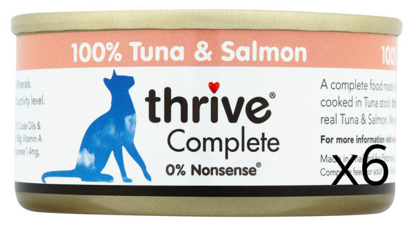 Thrive Tuna and Salmon 75g