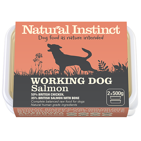 Natural Instinct Working Salmon