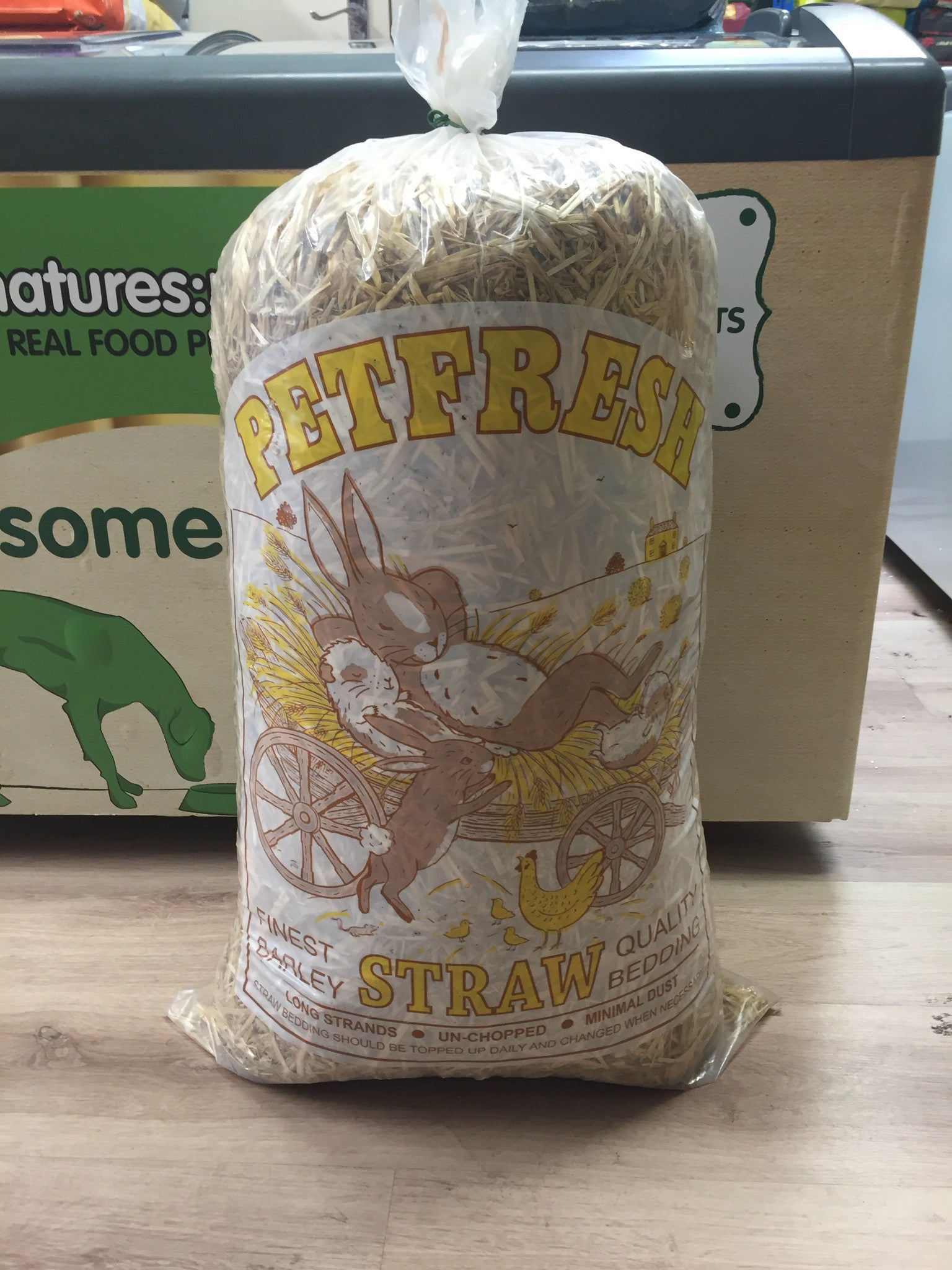 Pet Fresh Straw Bale