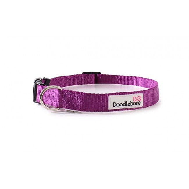Doodlebone Bold Purple Collar