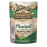 Carnilove Cat Pouch Pheasant with Raspberry Leaves 85g