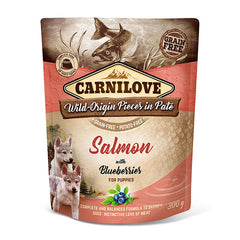 Carnilove Salmon with Blueberries Puppy Food 300g