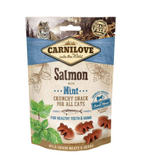 Carnilove Salmon with Mint Cat Treats 50g