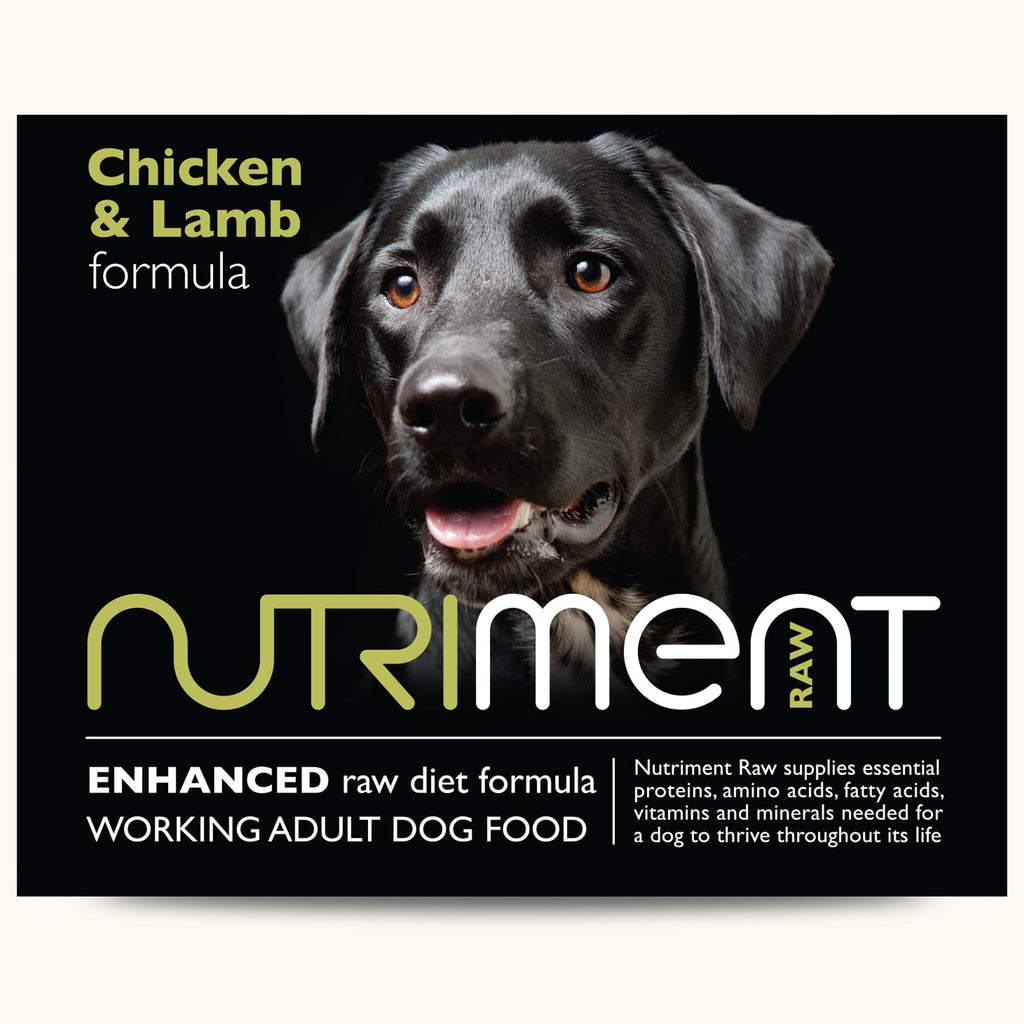 Nutriment Chicken and Lamb Dog Food