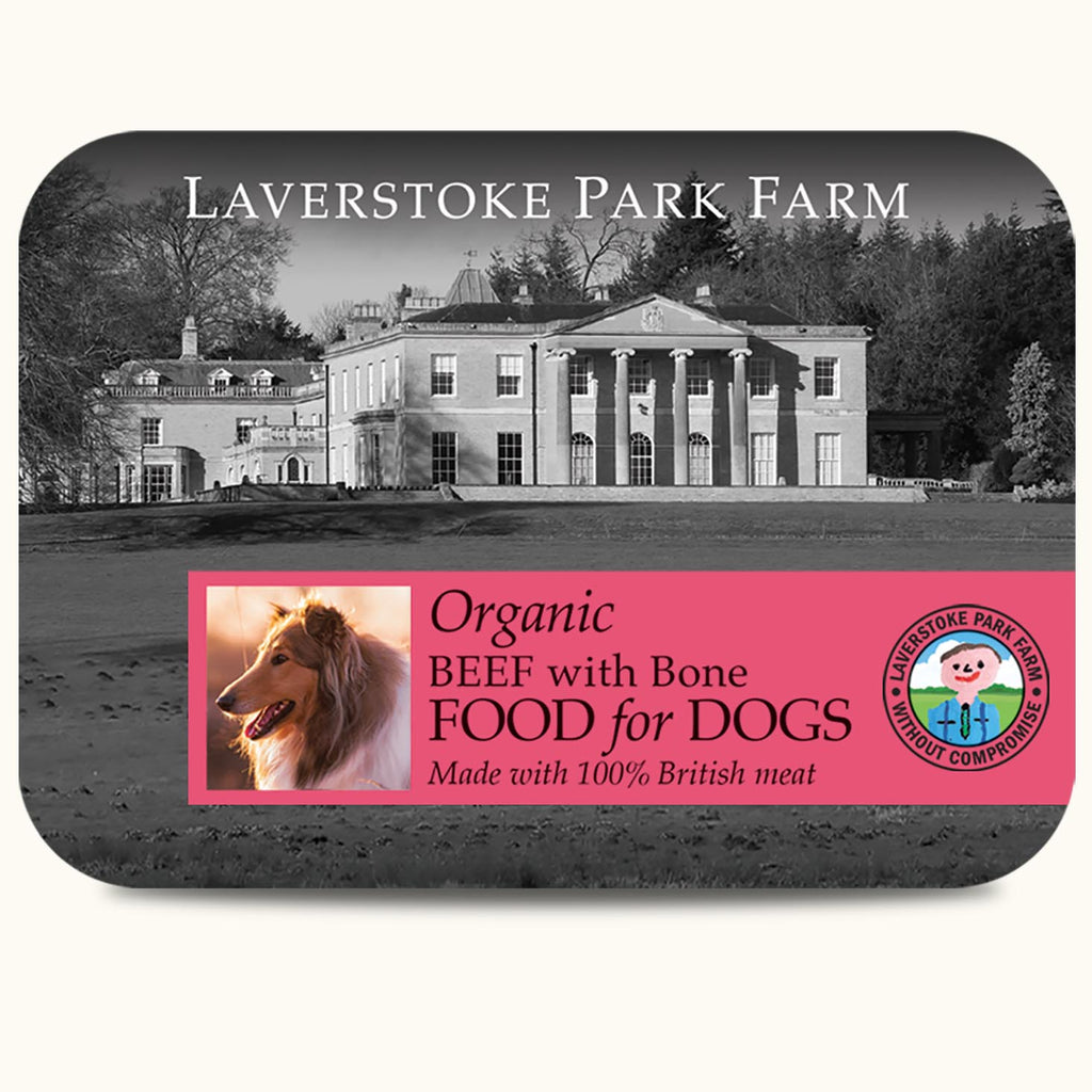 Laverstoke Organic Beef with Bone 500g