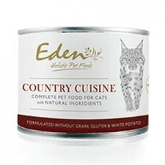 Eden Wet Food Country Cuisine Cat Food 6 x 200g