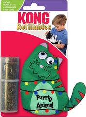 Kong Christmas Purrty Animal Catnip Toy