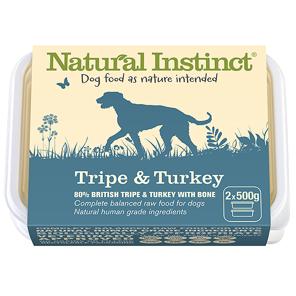 Natural Instinct Tripe and Turkey