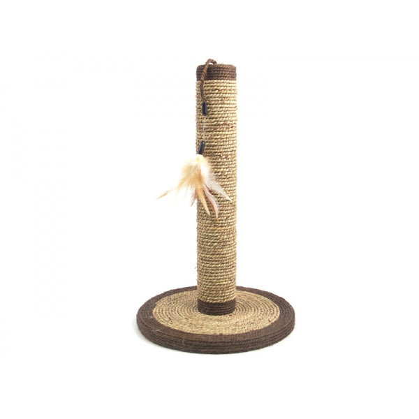 Natural Scratchers Seagrass feather post (Suitable for Kitten)