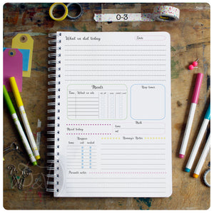 Ultimate A4 Personalised Nanny Diary!
