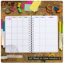 Load image into Gallery viewer, Personalised Teacher's Planner week to view 20/21