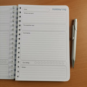 Holiday/vacation planner
