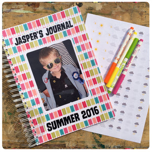 Kids Personalised Scrapbook/Journal