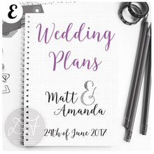Load image into Gallery viewer, Wedding Planner/Journal