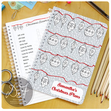 Load image into Gallery viewer, Christmas Planner - Baubles