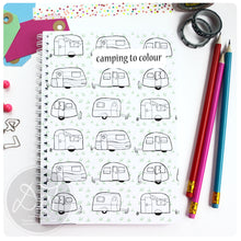 Load image into Gallery viewer, Campsite Log Book - personalised