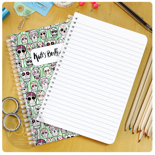 A5 Personalised Lined notebook