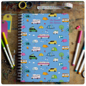 Campsite Log Book - personalised