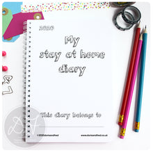 Load image into Gallery viewer, The stay at home diary