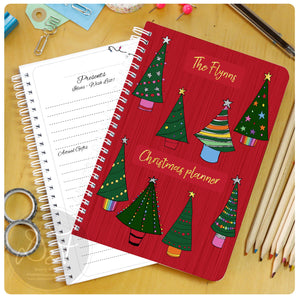Christmas Planner - Christmas Trees/Lights