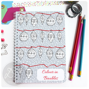 Christmas Planner - Baubles