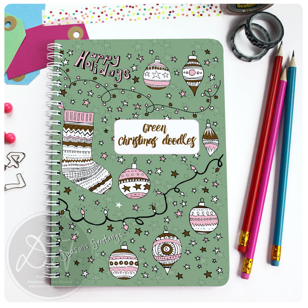 Christmas Planner - Christmas Doodles/Lights