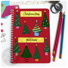 Load image into Gallery viewer, Christmas Planner - Christmas Trees/Lights