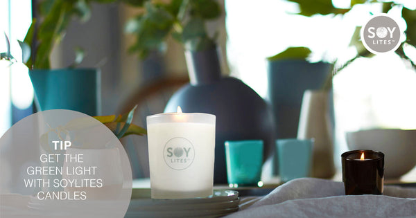 Get the green light with SoyLites candles