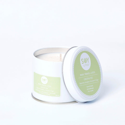 Energise with Peppermint, Eucalyptus, Geranium and Ginger