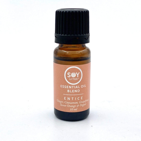 SoyLites 10ml Aromatherapy 10ml Entice: Cinnamon, Orange, Grapefruit, Ginger