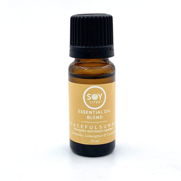 SoyLites 10ml Aromatherapy 10ml Peaceful Summer: Citronella, Lemongrass and Lavender
