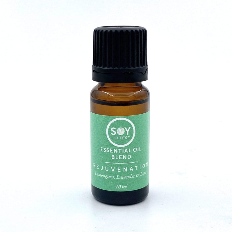 SoyLites 10ml Aromatherapy 10ml Rejuvenation: Lemongrass, Lavender and Lime