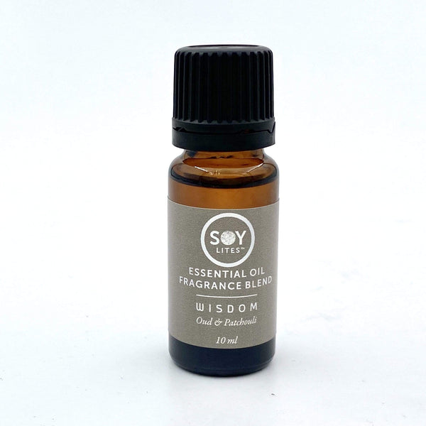 SoyLites 10ml Aromatherapy 10ml Wisdom: Oud and Patchouli
