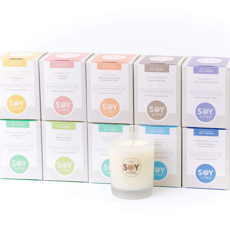 SoyLites Soy Aromatherapy Tumbler 220 ml 'Burn Brighter' Value Pack of 24 x 220ml