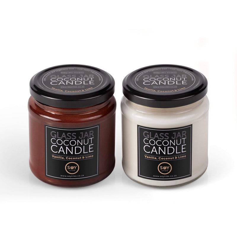 SoyLites Coconut Candle Coconut Candle with Coconut, Vanilla & Lime 200ml
