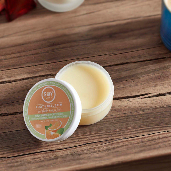 SoyLites Body Care Range Foot and Heel Balm 125ml