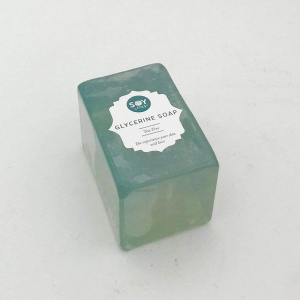 SoyLites Soaps Glycerine Soap Bar 150g - Tea-Tree