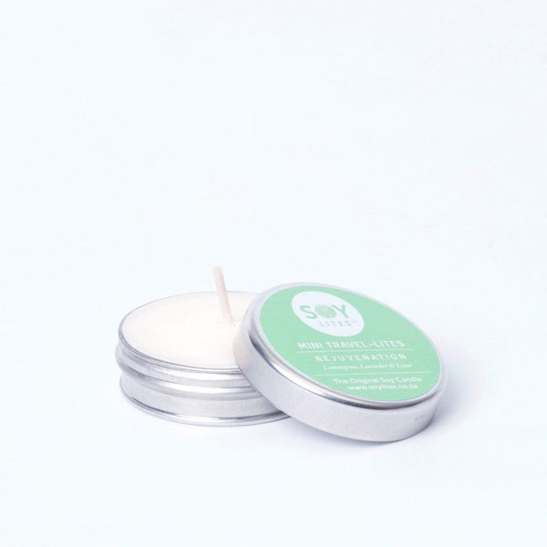 SoyLites Mini Travel Lites 15ml Rejuvenation Mini-Lite 15ml with Lemongrass, Lavender & Lime