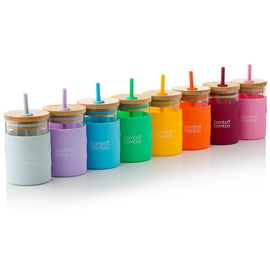 bb Toddler Jar with Straw bamboo bamboo
