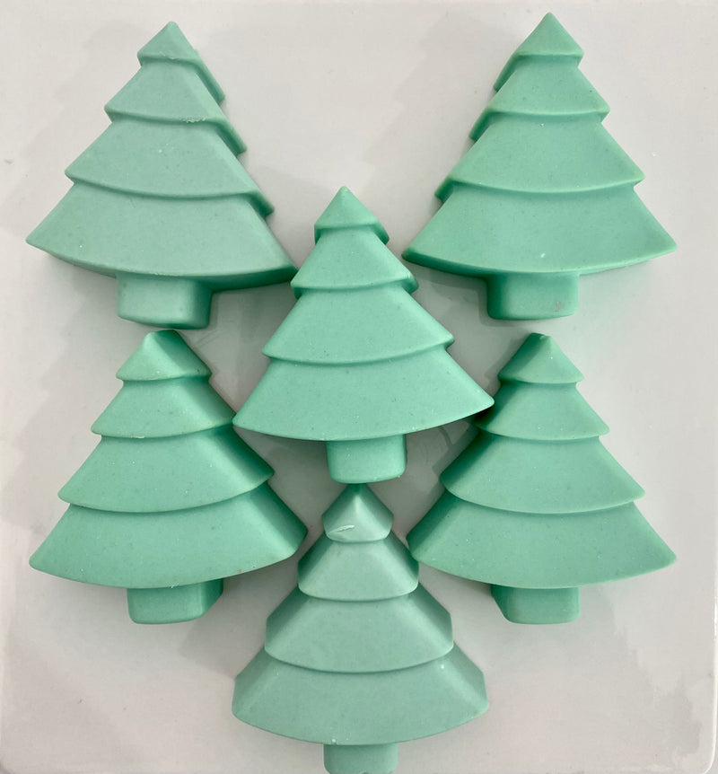 christmas tree artisan soap