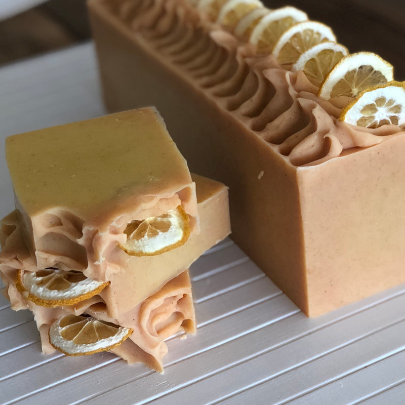 lemon oh! Naturale soap
