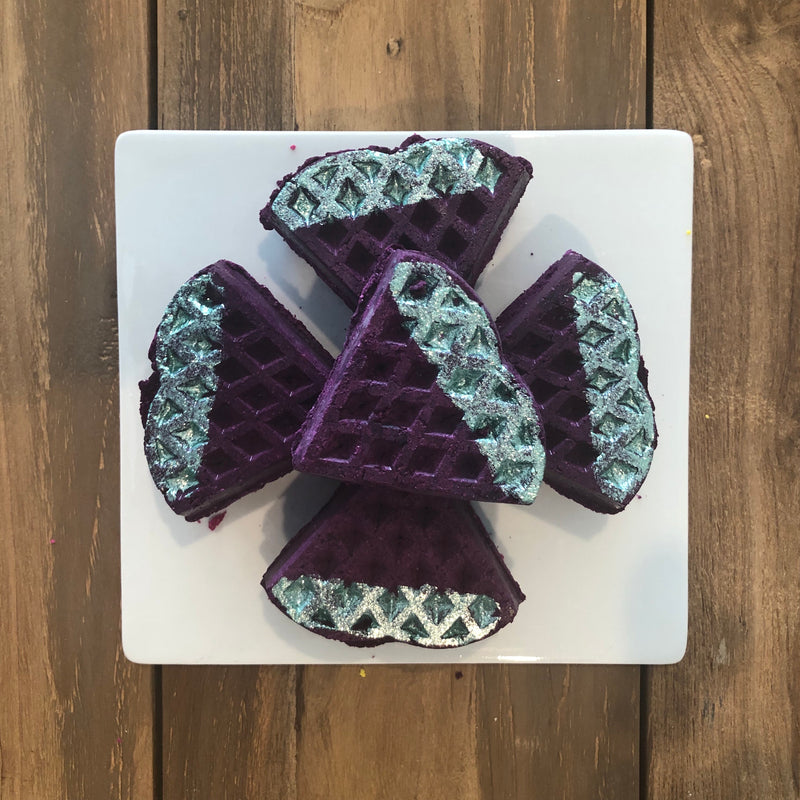 grape soda bubble waffle
