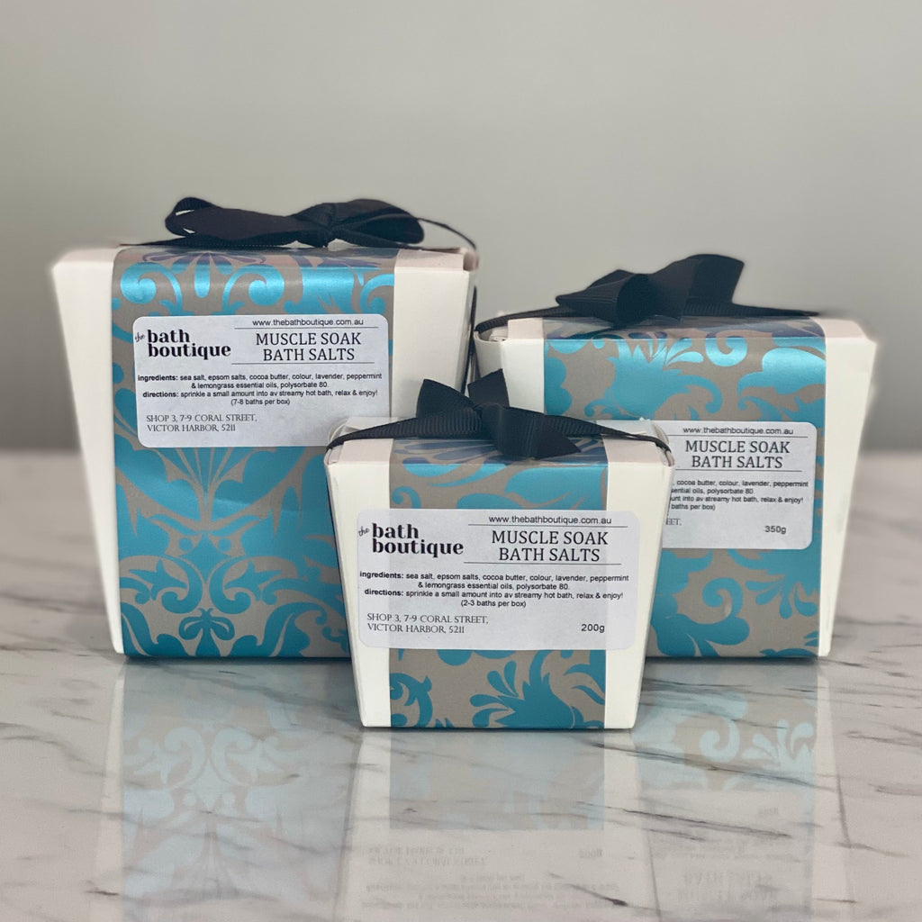 muscle soak bath salts