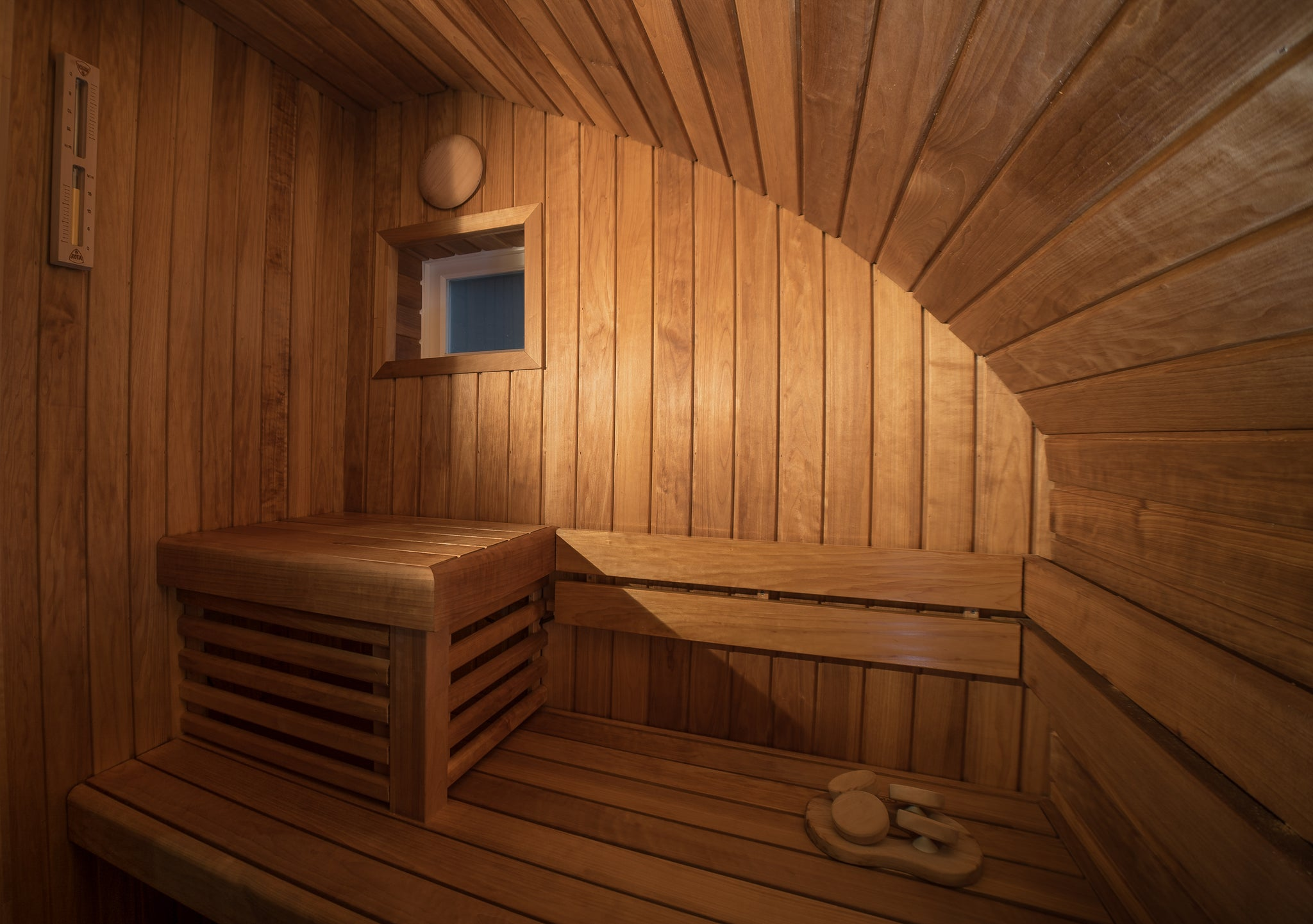 Bespoke Indoor Micro Sauna Installation, Burghley Road, Kentish Town: North London