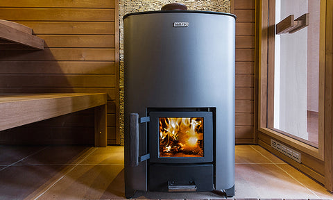 Narvi NC 16 Wood Burning Sauna Stove Installation