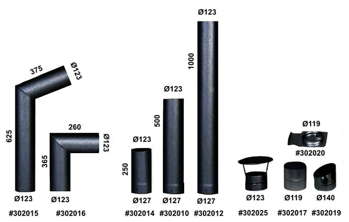 Kota Flue Parts with product #