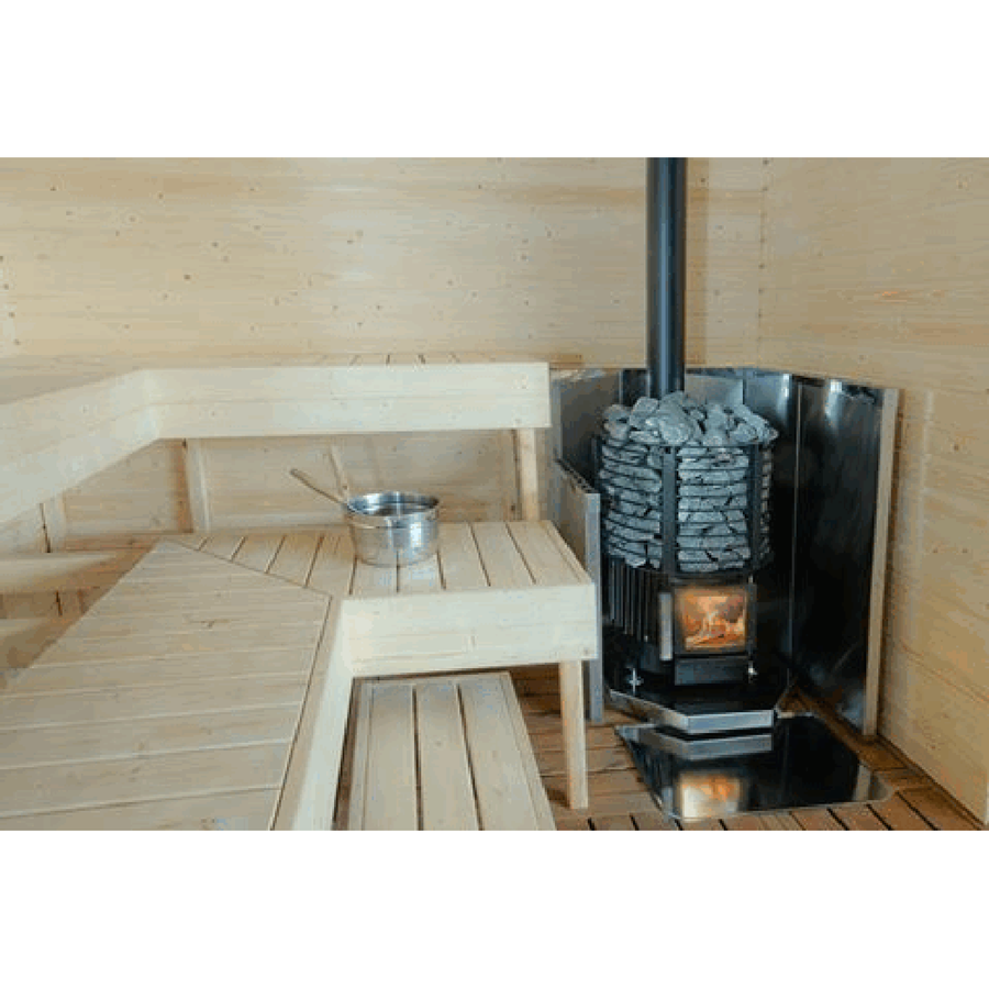 Kota Inari Wood Burning Sauna Heater  Wood Burning Sauna Heater Finnmark Sauna