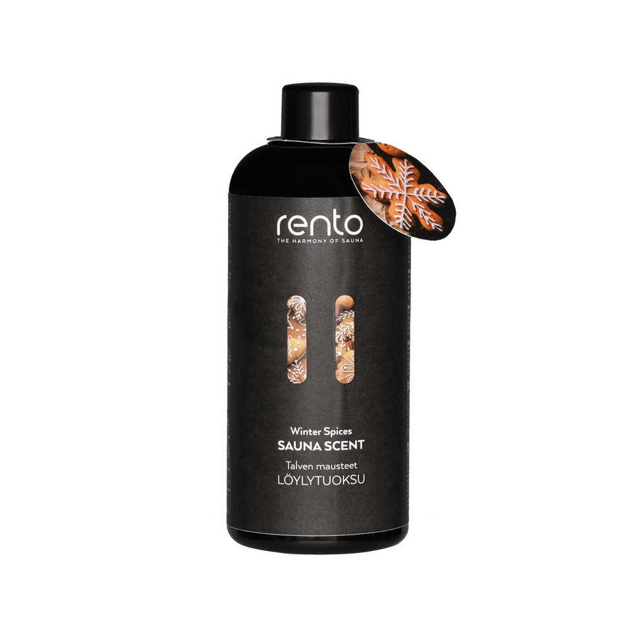 Rento Winter Spices/Gingerbread Scent Sauna Oil 400ml  Sauna Scents Finnmark Sauna