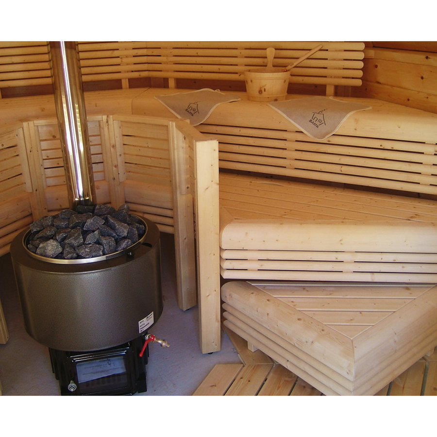 Kota Luosto Wood Burning Sauna Heater  Wood Burning Sauna Heater Finnmark Sauna