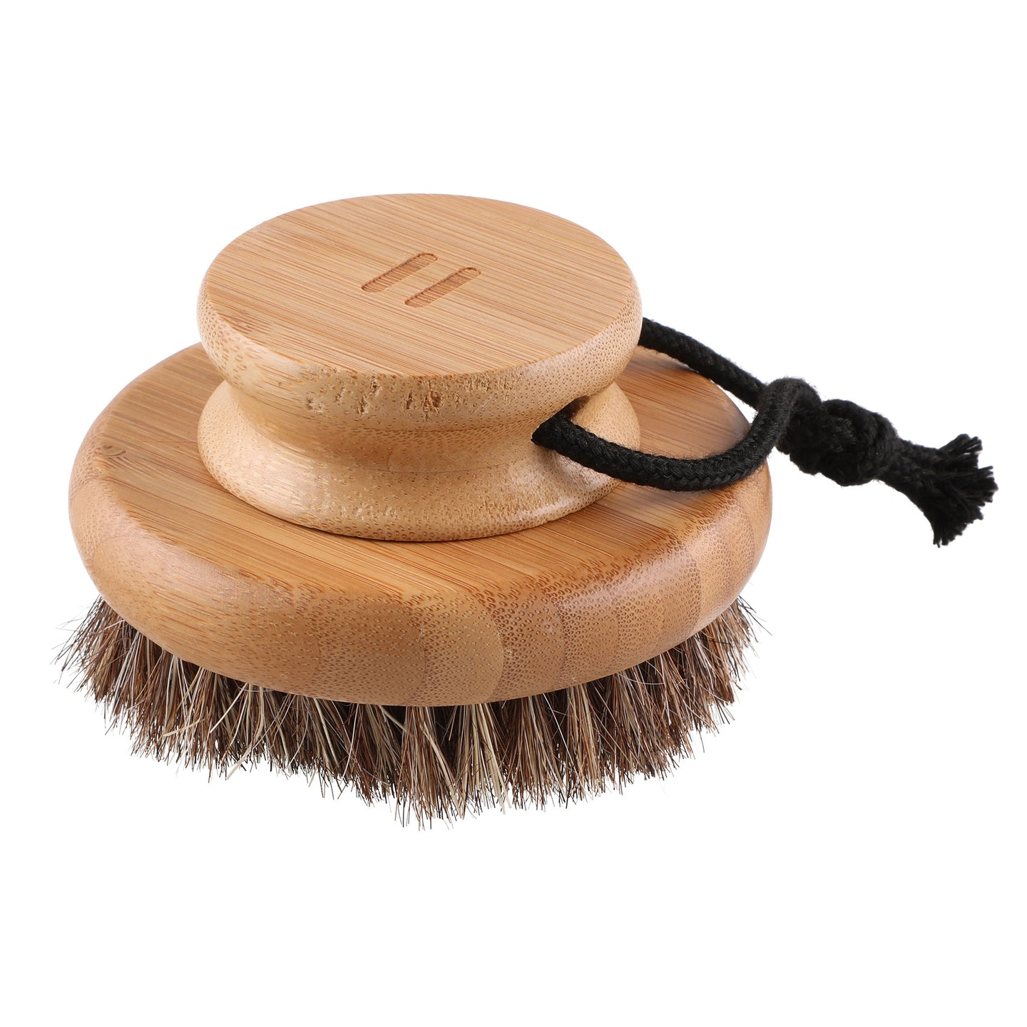 Rento Wooden Body Brush Bamboo & Natural Hair Default Title Bath Brush Finnmark Sauna
